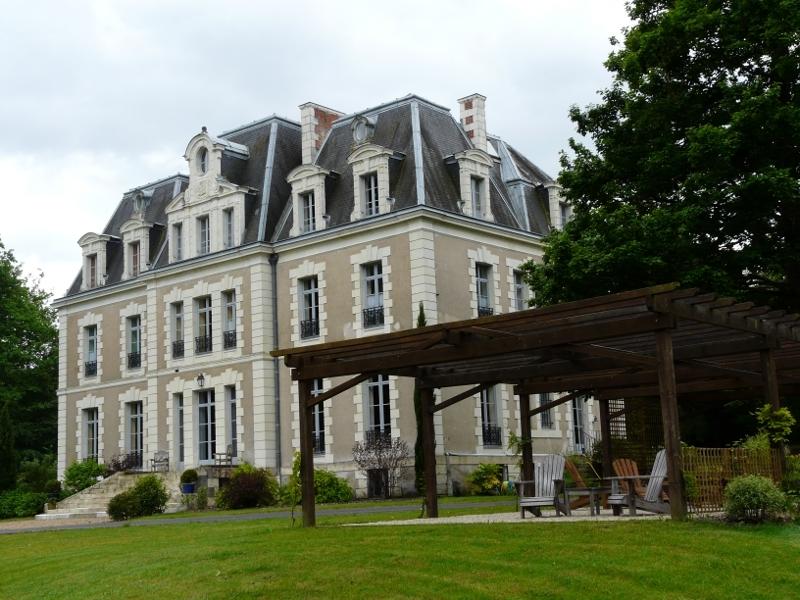 Château des Essards à LANGEAIS ©  Laurence Hyest