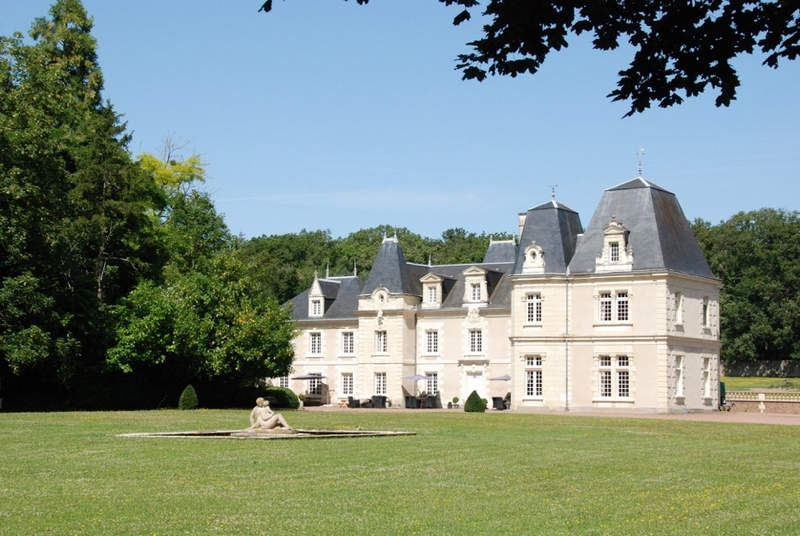 Château de Jalnay à GLENOUZE © Château de Jalnay