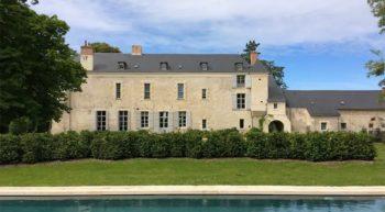 Château de Minière – Piscine – Coteaux sur Loire
