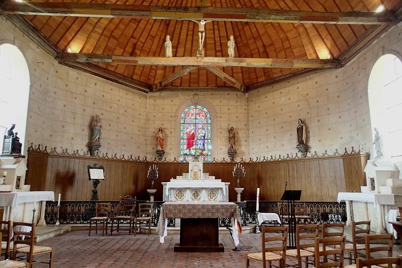 Journées Européennes du Patrimoine -Visite libre de l'église à LA PUISAYE © mairie de la puisaye