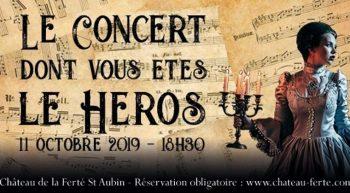 concert dont vous êtes le héros
