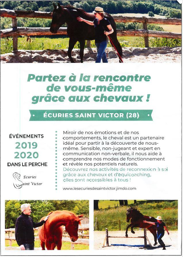 Partir à la recherche de son bonheur avec les chevaux à SAINT-VICTOR-DE-BUTHON © ecuries-st-victor