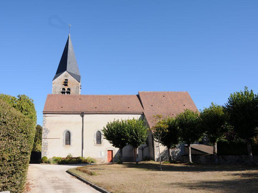 Eglise Saint-Pierre Saint-Paul à AUGERVILLE-LA-RIVIERE ©  Conservation départementale du Loiret