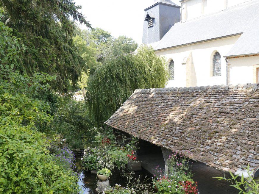 Eglise Saint-Etienne-Sainte-Mesme à CHAMBON-LA-FORET ©  C. Senard