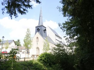 Eglise Saint-Etienne-Sainte-Mesme à CHAMBON-LA-FORET - 2  ©  C. Senard