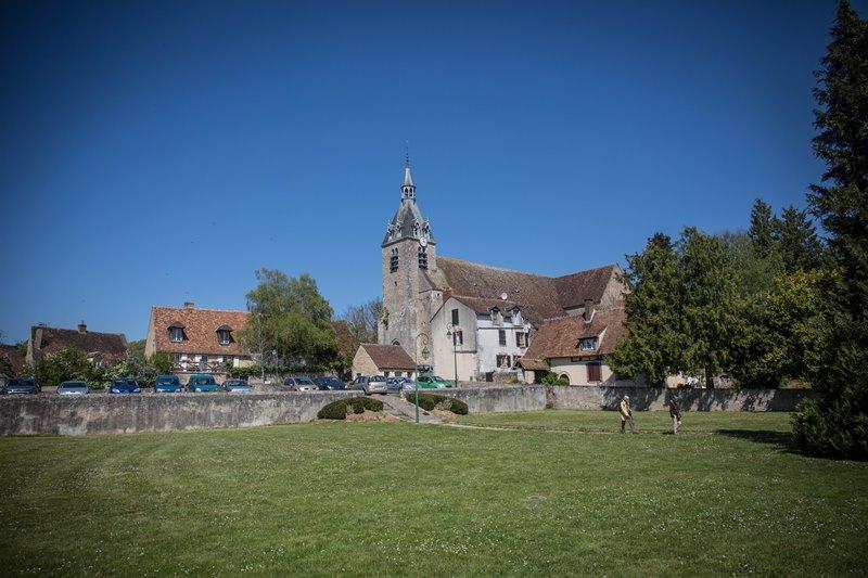 Eglise Saint-Etienne et Saint Pavas à CHATEAU-RENARD © A. Rue - ADRT 45