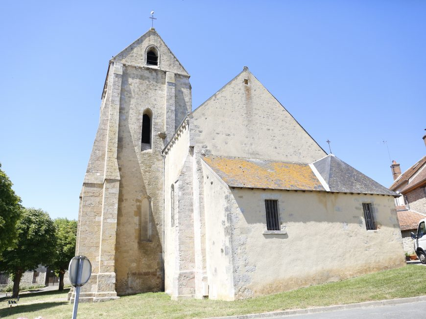 Eglise Saint-Martin à ESTOUY ©  C. Senard