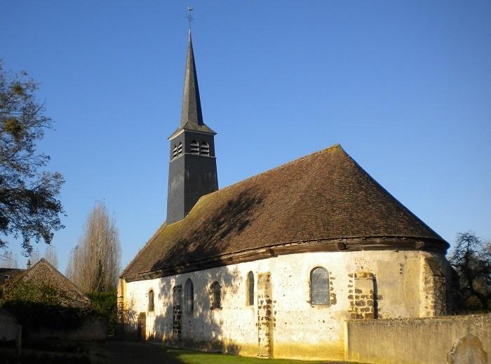 Journées Européennes  du Patrimoine – Visite libre de l'église à LA SAUCELLE © mairie de la saucelle