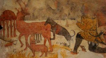 eglise-peinture murale-conversion de st hubert
