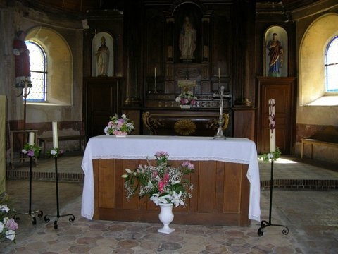 Journées Européennes du Patrimoine – Visite libre de l'église à ROHAIRE - 2  © mairie de rohaire