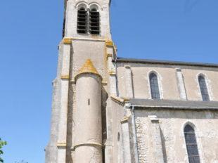 Eglise Saint-Aignan de Baule à BAULE - 3  ©  Office de Tourisme des Terres du Val de Loire
