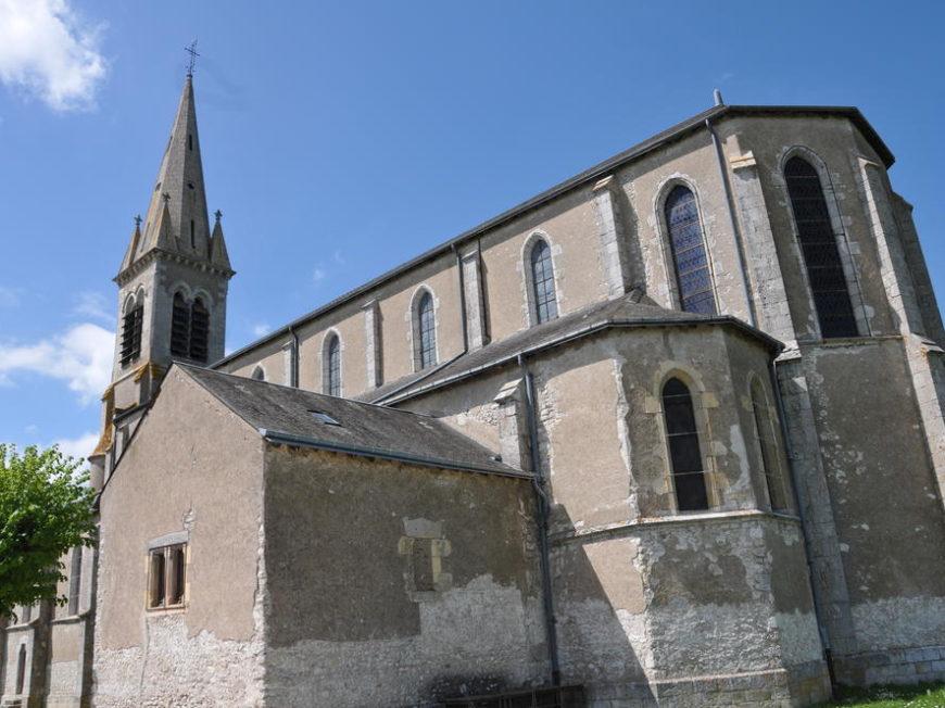 Eglise Saint-Aignan de Baule à BAULE ©  Office de Tourisme des Terres du Val de Loire