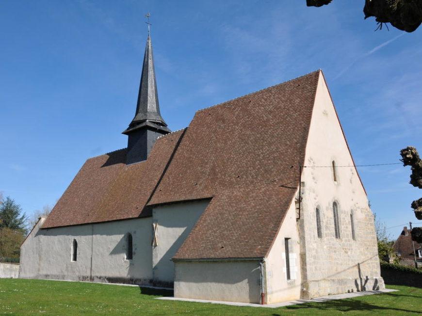 Eglise Saint-Martin à COURTEMAUX © CDL