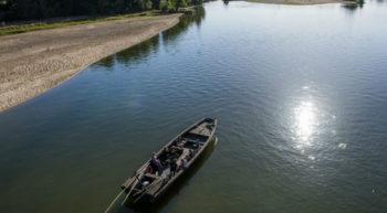 Endremage bateau sur la Loire