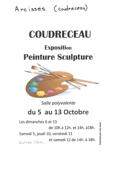 Exposition peinture et sculpture à ARCISSES © Fêtes et Loisirs