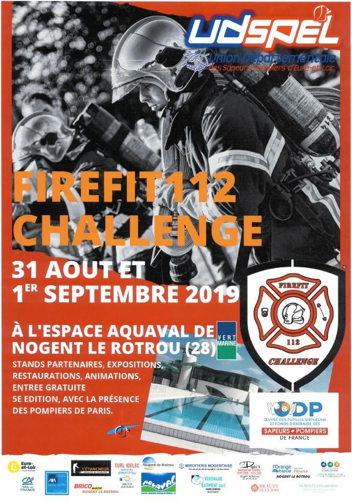 Firefit 112 challenge à NOGENT-LE-ROTROU © UDSPEL