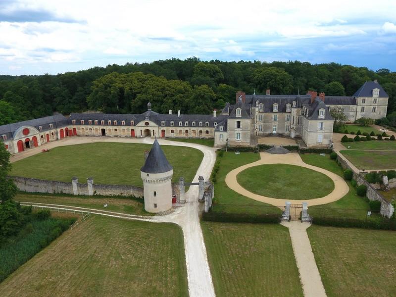 Exposition d'art contemporain #habiterlelieu à GIZEUX © Chateau de Gizeux