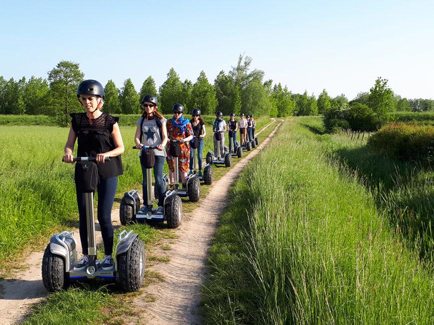 Gyroway – Balades en gyropodes tout-terrain et trottinettes électriques en Val de Loire à LANGEAIS ©  Gyroway