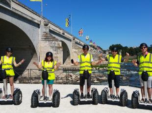 Gyroway – Balades en gyropodes tout-terrain et trottinettes électriques en Val de Loire à LANGEAIS - 4  ©  Gyroway