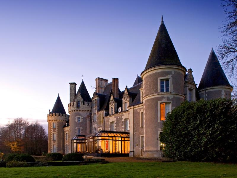Château Golf des Sept Tours à COURCELLES-DE-TOURAINE ©  Château des Sept Tours