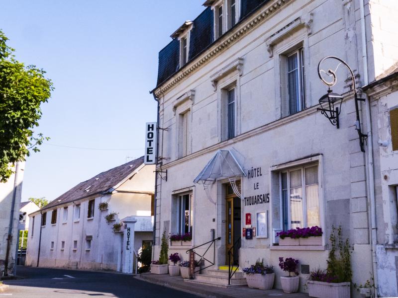 Hôtel Pylo'gis – Le Thouarsais à BOURGUEIL © hotel du thouarsais