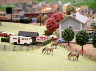 La Petite France – Musée animé de Trains Miniatures à SAVIGNE-SUR-LATHAN - 7  ©  OT CB