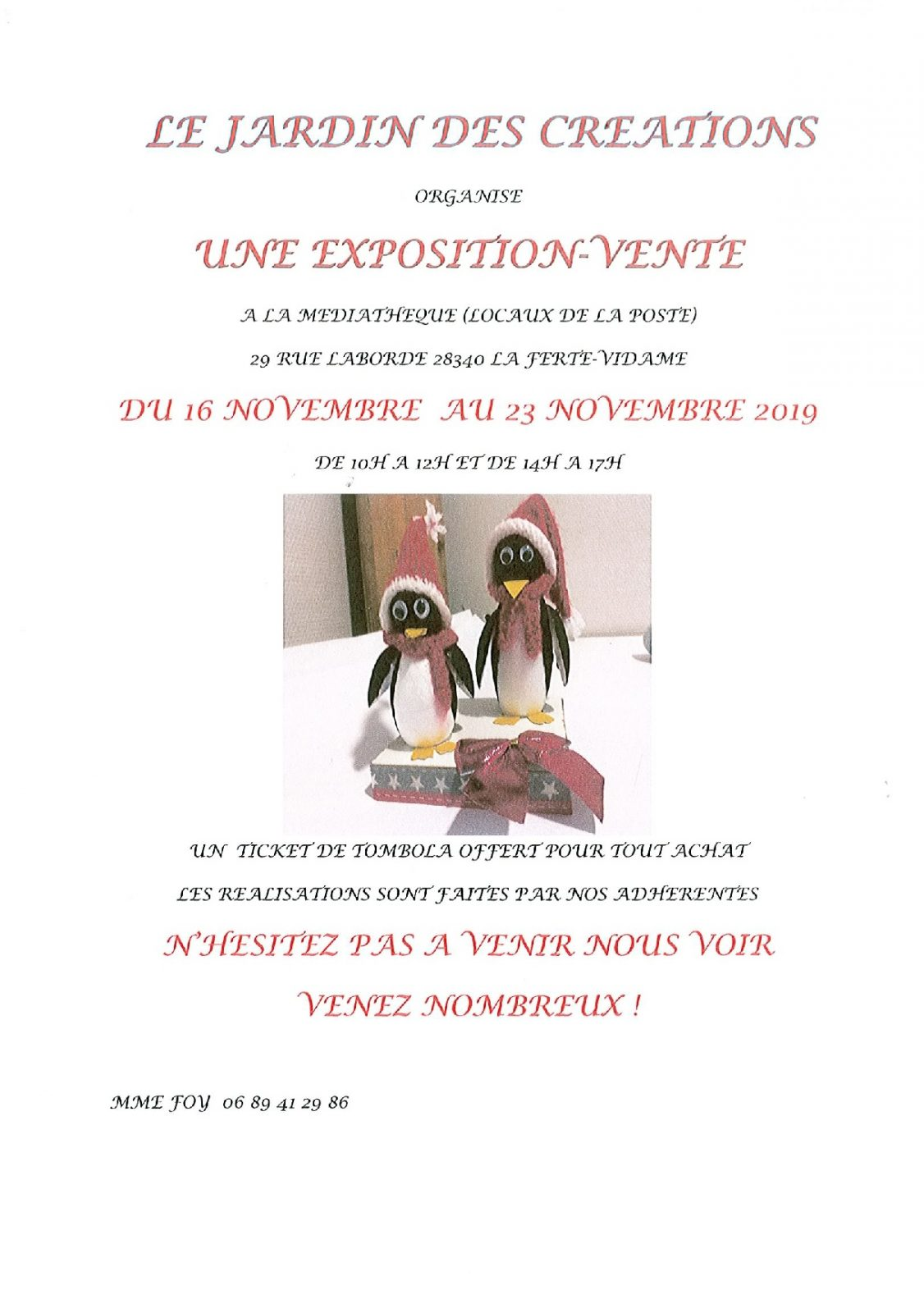 Exposition-Vente. Jardin des Créations à LA FERTE-VIDAME © le jardin des créations
