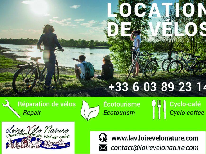 Loire Vélo Nature à BREHEMONT © Loire Vélos nature