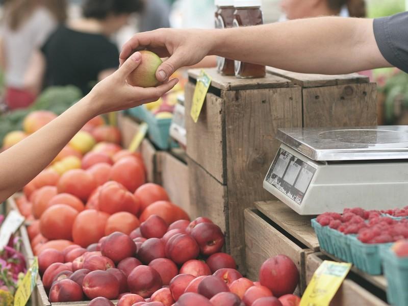 Marché de producteurs à COTEAUX-SUR-LOIRE © pixabay