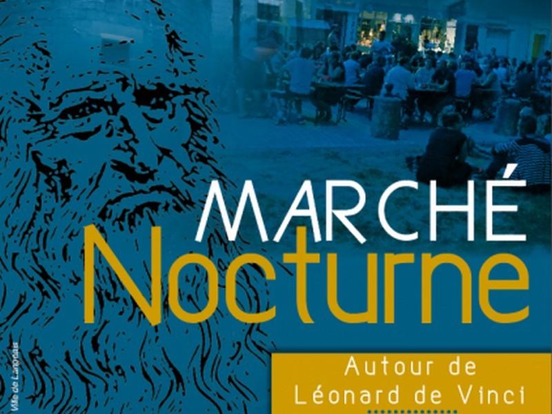 Marché Nocturne à LANGEAIS ©  Mairie Langeais
