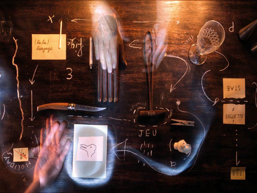 Exposition Figures de pensée / Denkbewegungen, Nikolaus Gansterer & Klaus Speidel à AMILLY © Les Tanneries