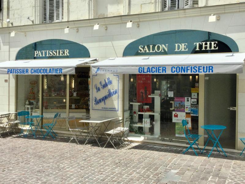 Patisserie Brémaud – Salon de Thé à BOURGUEIL ©  JF Bremaud
