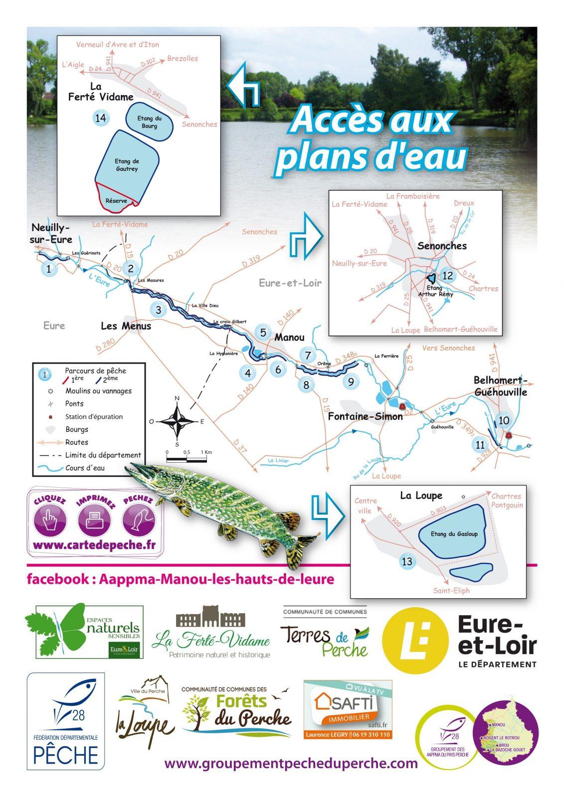 Ouverture pêche – Plans d'eau de La Ferté Vidame à LA FERTE-VIDAME - 2  © aappma