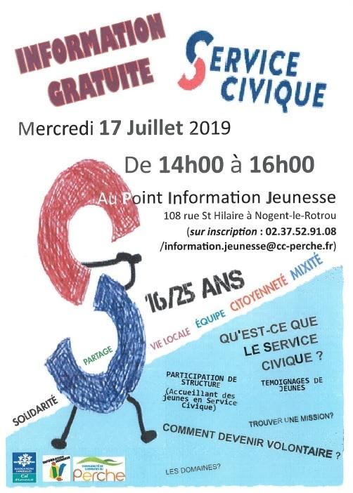 Point information Service Civique à NOGENT-LE-ROTROU © PIJ Nogent