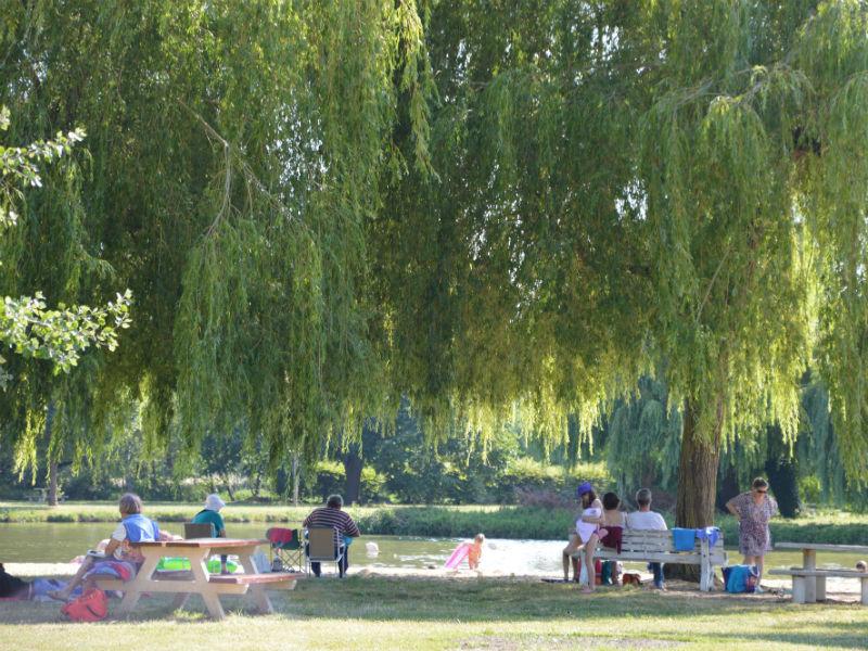 Aire de pique-nique Parc du Capitaine à BOURGUEIL © Mairie de Bourgueil