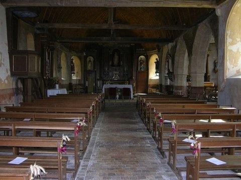 Journées Européennes du Patrimoine – Visite libre de l'église à ROHAIRE - 3  © mairie de rohaire