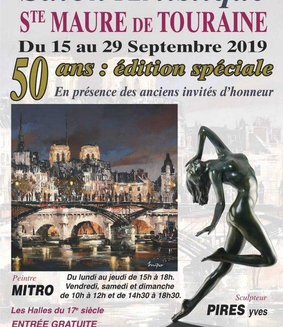 GRAND SALON ARTISTIQUE DE SAINTE-MAURE-DE-TOURAINE à SAINTE-MAURE-DE-TOURAINE © Mouvement artistique