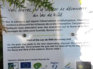 Sentier de découverte du lac de Rillé à RILLE - 2  ©  Aurore Bailly - PLN