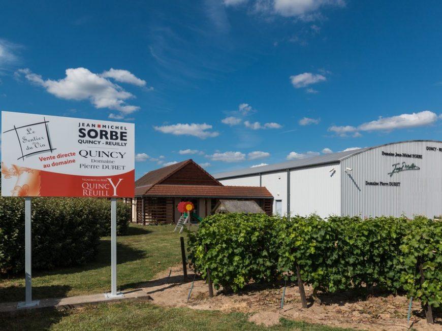 Domaine Jean-Michel Sorbe – Le Sentier du Vin à BRINAY © Sentier du Vin
