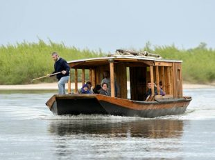 Balade en bateau traditionnel avec l'association Coeur de Loire à MEUNG-SUR-LOIRE - 3  ©  O. Parcollet