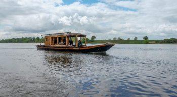 Balade en bateau avec l'association Cœur de Loire