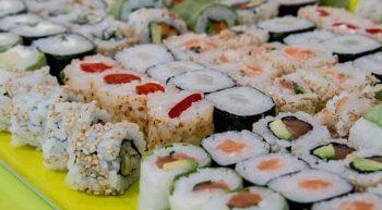 Sushi volant