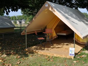 Camping Val de Flux à BEAUGENCY - 9  © tente 2 personnes