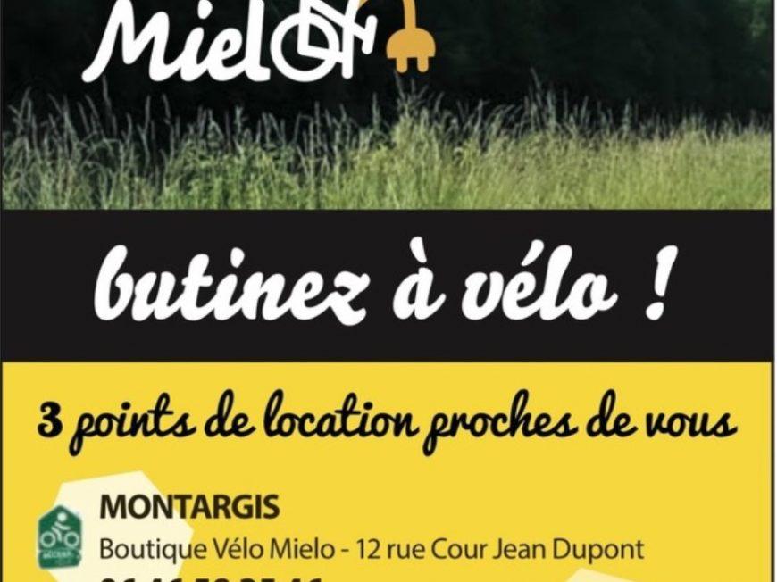 Point de location – Vélo Mielo à CHATEAU-RENARD © velo mielo