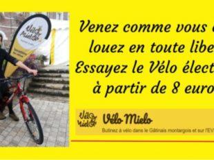 Point de location – Vélo Mielo à CHATEAU-RENARD - 2  © velo mielo