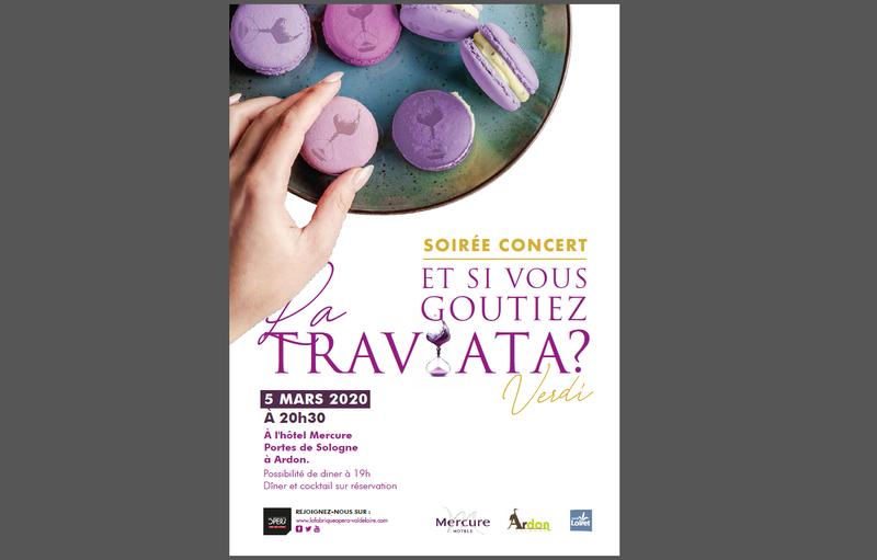 Soirée concert, et si vous goûtiez La Traviata à ARDON © Fabrique Opéra