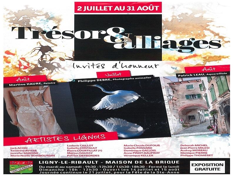 Trésor &alliages à LIGNY-LE-RIBAULT © Trésor et alliages