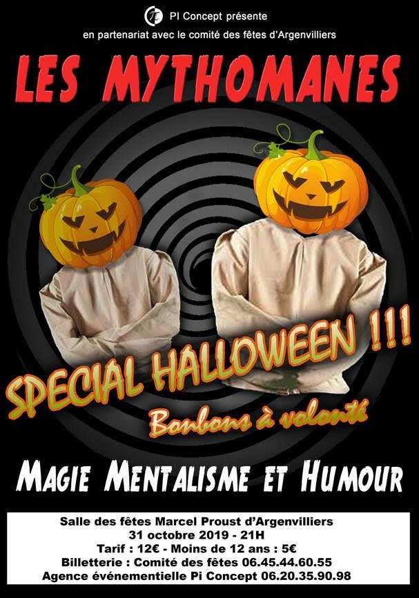 Soirée Halloween à ARGENVILLIERS © Comité des fêtes Argenvilliers