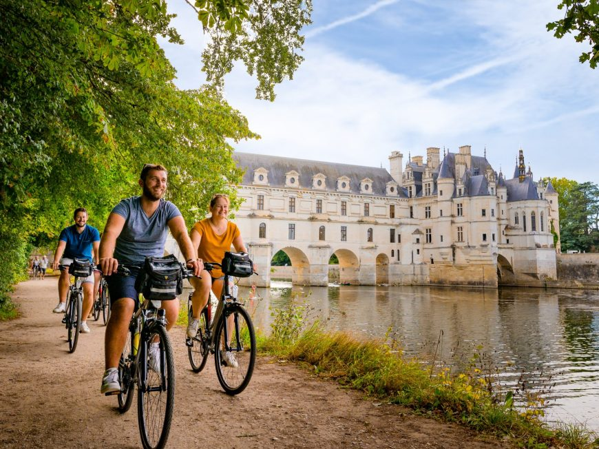 Loire Valley Cycling à CIVRAY-DE-TOURAINE © ADT Touraine - JC Coutand