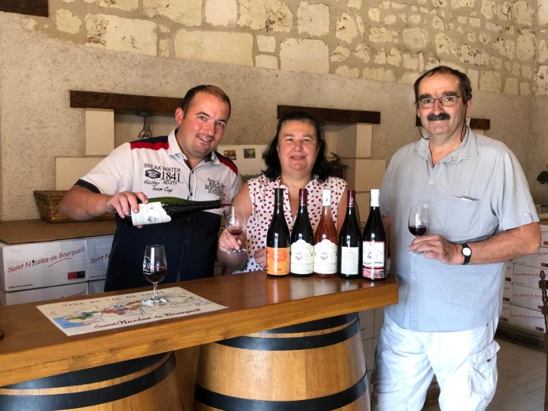 Vignoble de la Rodaie à SAINT-NICOLAS-DE-BOURGUEIL ©  Cousseau Boireau